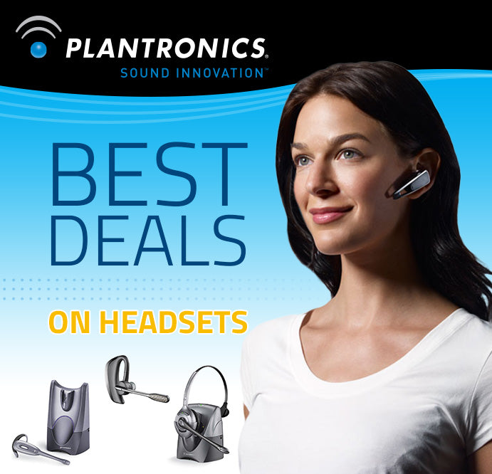 Best Deals on Plantronics!