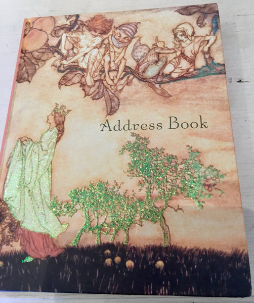 Fairies and Elves Pick Apples Address Book
