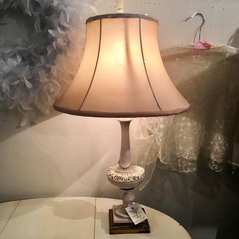Vintage Shabby Chic Lamp