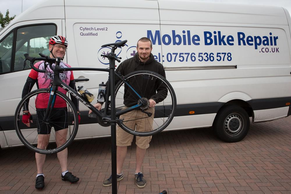 Mobile Bike Repair Event Support