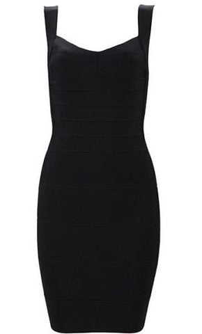 Abigail Back Mini Bandage Dress