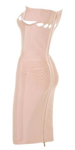Amalie Off Shoulder Bandage Dress