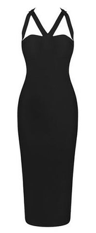 Alivia Black  Bandage Dress