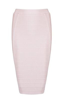 Ethel Knee Length Bandage Skirt