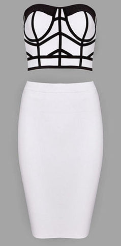 Karlotta Two Piece Bandage Dress