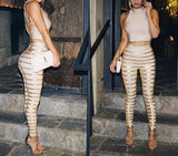 Saveria Two Piece Bandage Suit