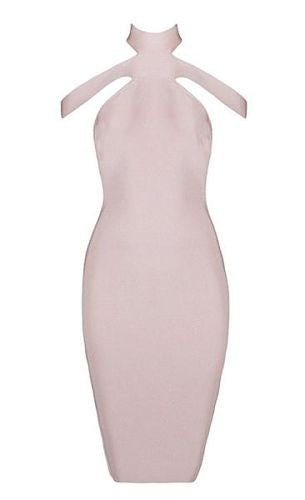 Lilly Nude Bandage Dress