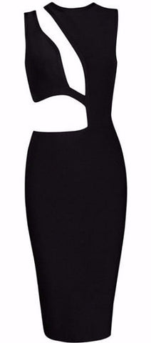 Bella Black bandage Dress