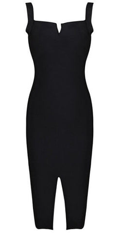 Belle Black Bandage Dress