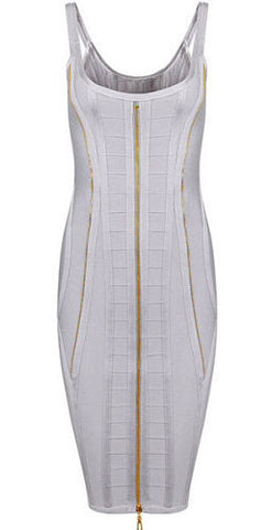 Carrie Gray Bandage Dress
