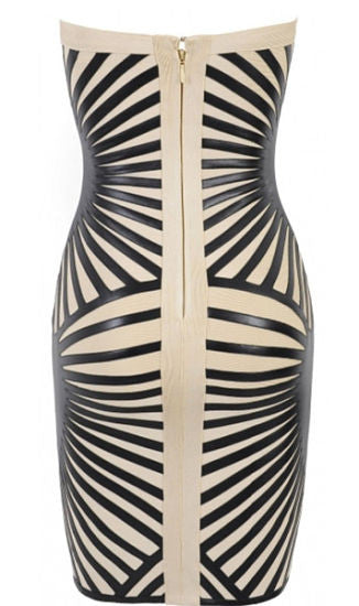 Harper Strapless Bandage Dress