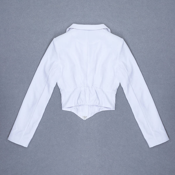 Mylah Long Sleeve White Top