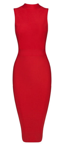 Camila Red Bandage Dress