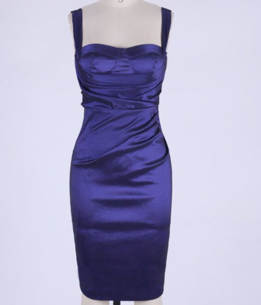 Sydni Royal Blue Spaghetti Strap Dress