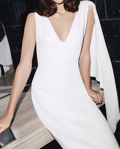 Luisa White Dress