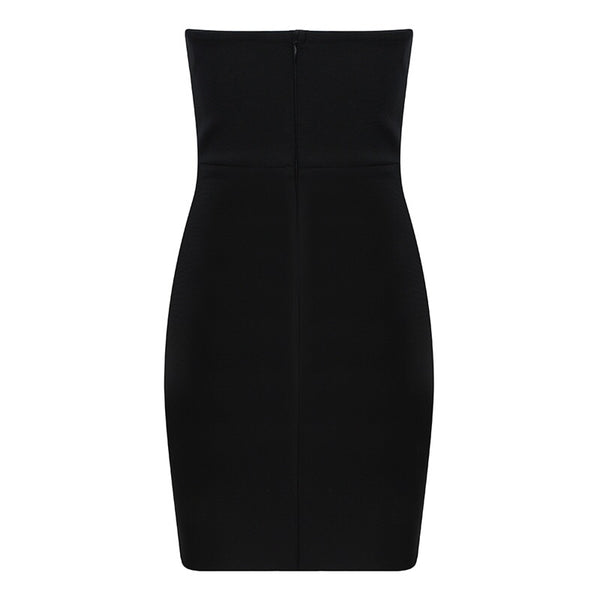 Karra Black Strapless Mini Dress