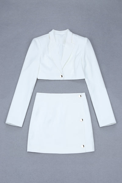 Wynne White Two Piece Set