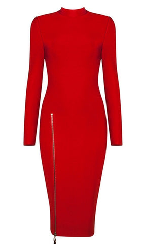 Phyllida Red Bandage Dress