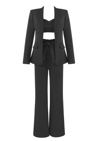 Pasha Black Suit Set