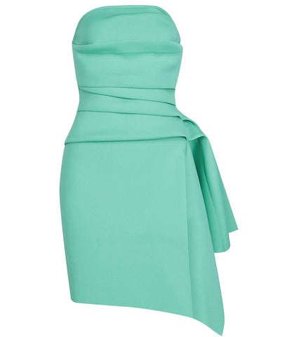 Saylor Strapless Mint Green Sexy Mini Party Dress