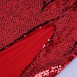 Dajana Red Sequin Maxi Dress
