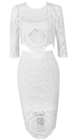 Kaelyn Lace Bandage Dress