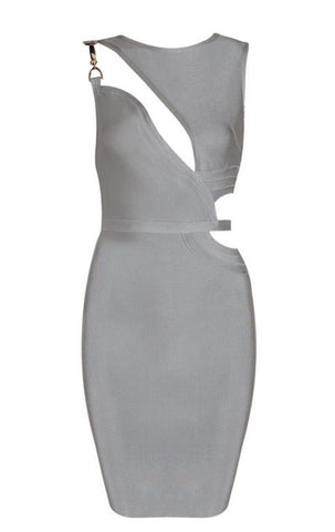 Dolores Gray  Bandage Dress