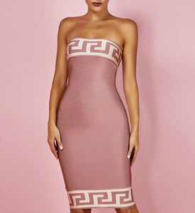 Gracie Strapless Bandage Dress