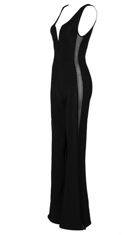 Chiamaka Black Jumpsuit