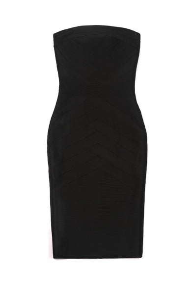 Gwenda Strapless Midi Bandage Dress