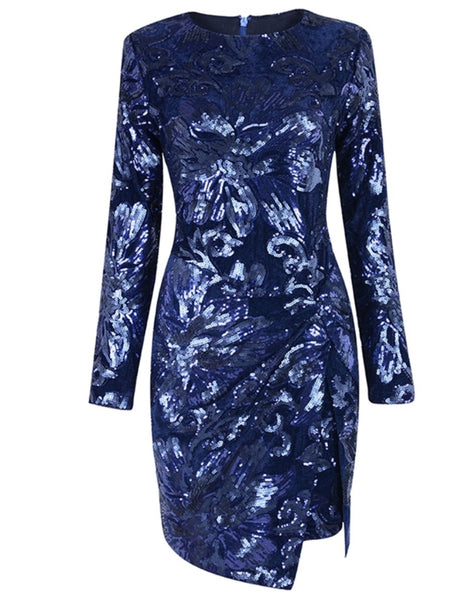 Aletta Sequin Mini Dress