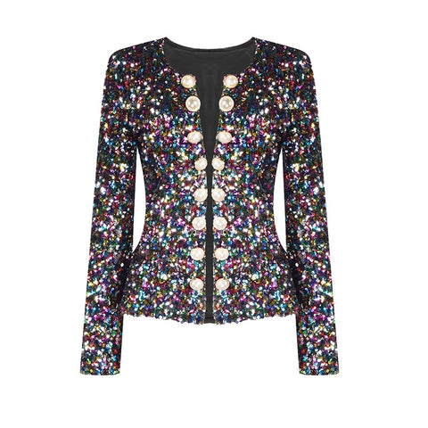 Willow Colorful Sequin Jacket