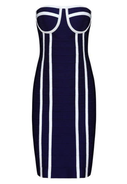 Tamta Strapless Bandage Dress