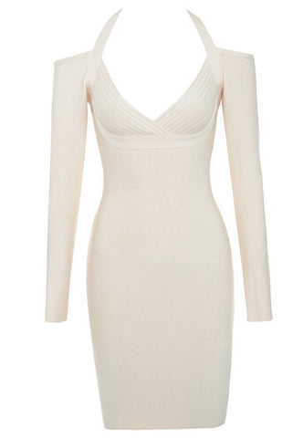 Kaia Bardot Cut Bandage Dress
