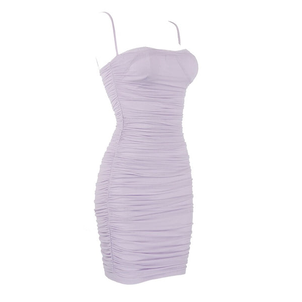 clothing store for women, purple dresses