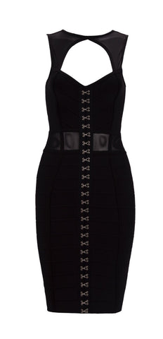 Akira Black Bandage Dress