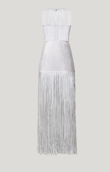 Keira Classic Maxi Tassel Bandage Party Dress