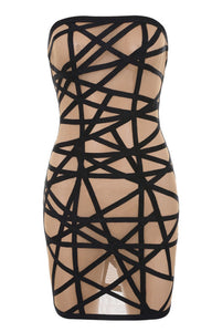 Sloane Strapless Mini Dress