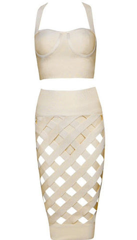 Kimmy Two-Piece Bandage Dress