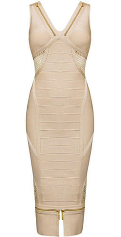 Thea Nude Bandage Dress