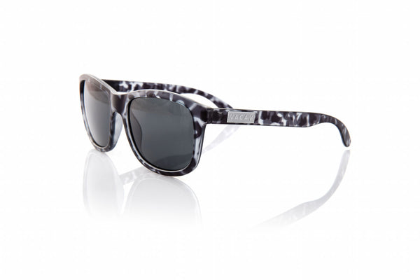 Vacay Classic Polarized Sunglass in Grey Tortoise Frames with Grey Lenses