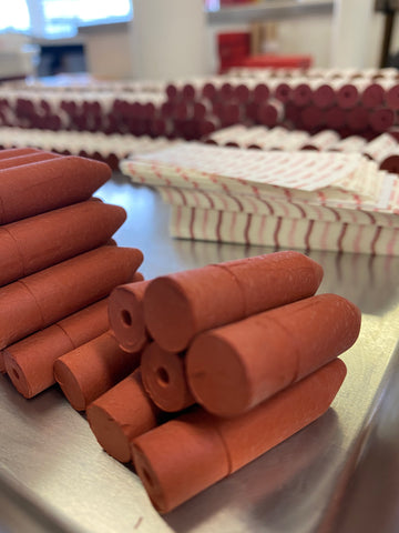 Axiology Balmies waiting to be hand warapped