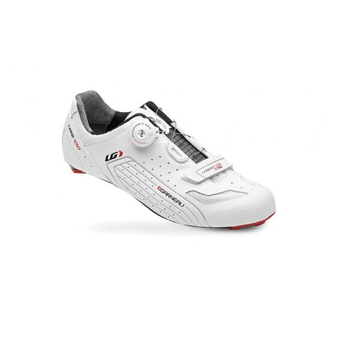 LOUIS GARNEAU Carbon LS-100 White Road Shoes