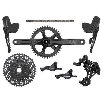 SRAM Apex1 1x11 Groupset BB30 - with Hydraulic Disc Brakes