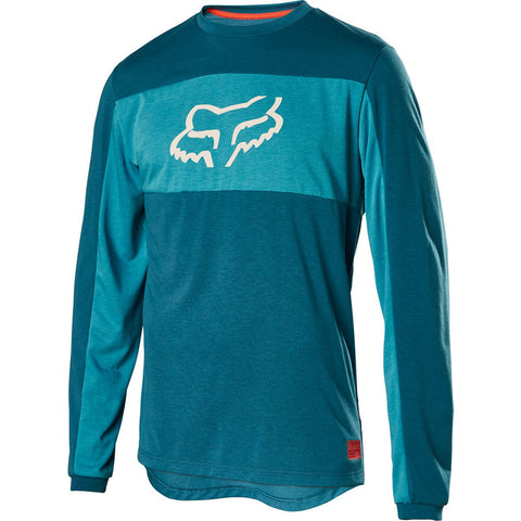 FOX Ranger DR Long Sleeve Fox Head Jersey