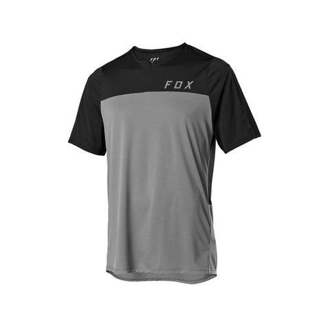 FOX Flexair Zip S/Sleeve Jersey (2020)