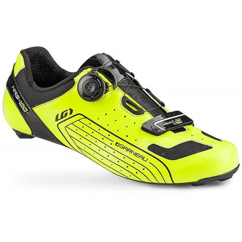 LOUIS GARNEAU Carbon LS-100 Fluo Yellow Road Shoes