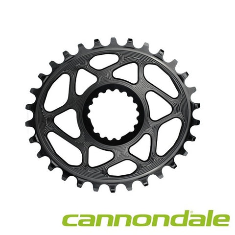 ABSOLUTE BLACK Cannondale Oval Chainring