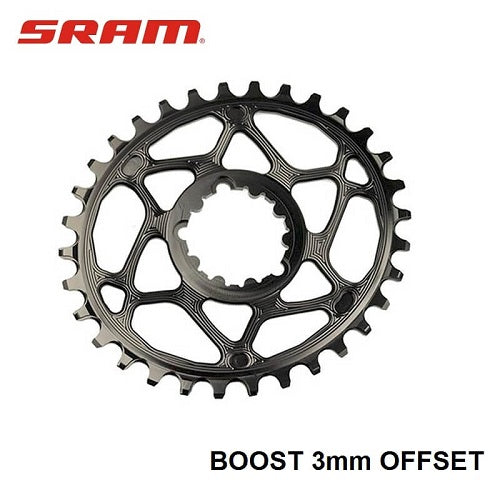 ABSOLUTE BLACK SRAM Boost Oval Chainring