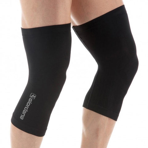 GIORDANA Knitted dry yarn knee warmers